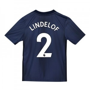 Manchester United Third Shirt 2018-19 - Kids with Lindelof 2 printing