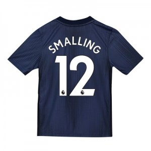 Manchester United Third Shirt 2018-19 - Kids with Smalling 12 printing