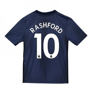 Manchester United Third Shirt 2018-19 - Kids with Rashford 10 printing