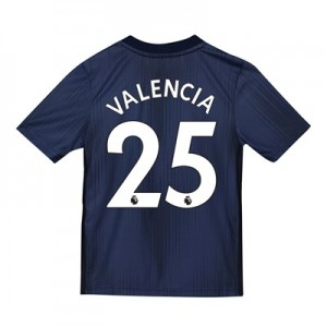 Manchester United Third Shirt 2018-19 - Kids with Valencia 25 printing