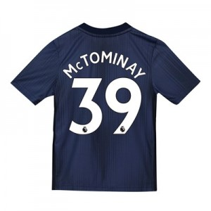 Manchester United Third Shirt 2018-19 - Kids with McTominay 39 printing