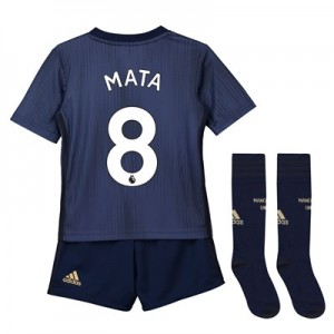 Manchester United Third Mini Kit 2018-19 with Mata 8 printing
