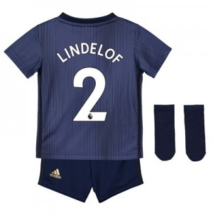 Manchester United Third Baby Kit 2018-19 with Lindelof 2 printing
