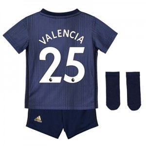 Manchester United Third Baby Kit 2018-19 with Valencia 25 printing