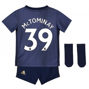 Manchester United Third Baby Kit 2018-19 with McTominay 39 printing
