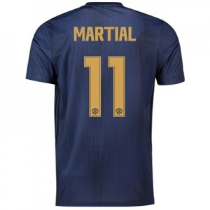 Manchester United Third Cup Shirt 2018-19 with Martial 11 printing