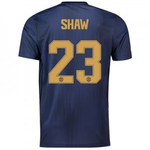 Manchester United Third Cup Shirt 2018-19 with Shaw 23 printing