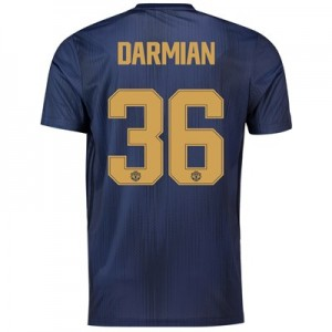 Manchester United Third Cup Shirt 2018-19 with Darmian 36 printing