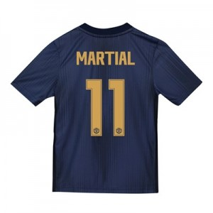 Manchester United Third Cup Shirt 2018-19 - Kids with Martial 11 printing