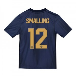 Manchester United Third Cup Shirt 2018-19 - Kids with Smalling 12 printing