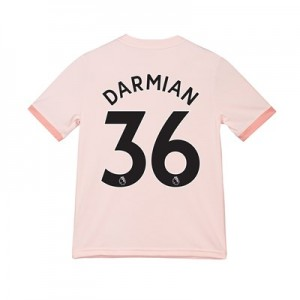 Manchester United Away Shirt 2018-19 - Kids with Darmian 36 printing