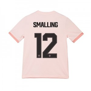 Manchester United Away Cup Shirt 2018-19 - Kids with Smalling 12 printing