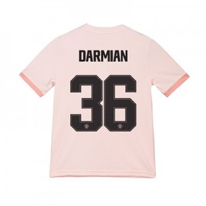 Manchester United Away Cup Shirt 2018-19 - Kids with Darmian 36 printing