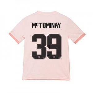 Manchester United Away Cup Shirt 2018-19 - Kids with McTominay 39 printing