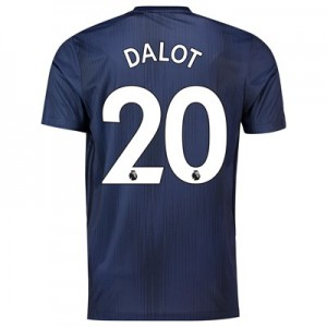 Manchester United Third Shirt 2018-19 with Dalot 20 printing