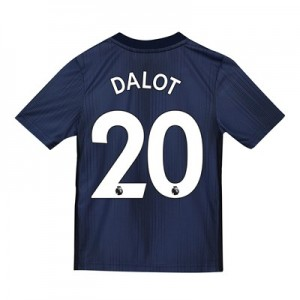 Manchester United Third Shirt 2018-19 - Kids with Dalot 20 printing