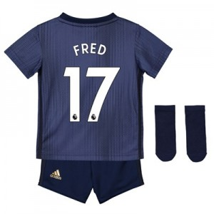 Manchester United Third Baby Kit 2018-19 with Fred 17 printing