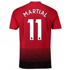 Manchester United Home Shirt 2018-19 with Martial 11 printing