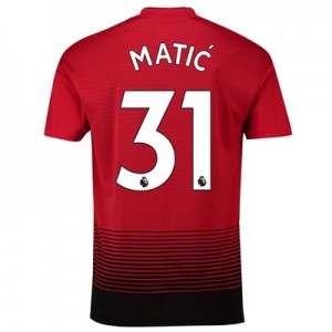 Manchester United Home Shirt 2018-19 with Matic 31 printing