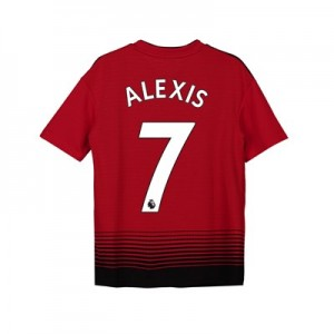 Manchester United Home Shirt 2018-19 - Kids with Alexis 7 printing