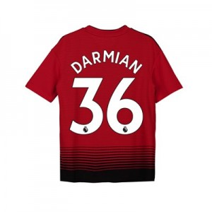 Manchester United Home Shirt 2018-19 - Kids with Darmian 36 printing
