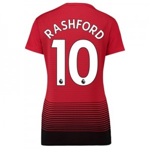 Manchester United Home Shirt 2018-19 - Womens with Rashford 10 printing
