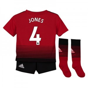 Manchester United Home Mini Kit 2018-19 with Jones 4 printing