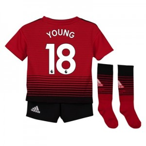 Manchester United Home Mini Kit 2018-19 with Young 18 printing