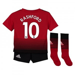 Manchester United Home Mini Kit 2018-19 with Rashford 10 printing