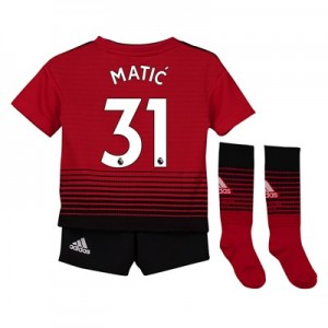 Manchester United Home Mini Kit 2018-19 with Matic 31 printing