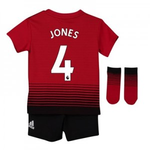 Manchester United Home Baby Kit 2018-19 with Jones 4 printing