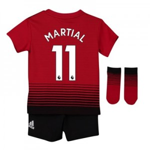 Manchester United Home Baby Kit 2018-19 with Martial 11 printing