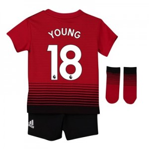 Manchester United Home Baby Kit 2018-19 with Young 18 printing