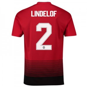 Manchester United Home Cup Shirt 2018-19 with Lindelof 2 printing