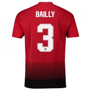 Manchester United Home Cup Shirt 2018-19 with Bailly 3 printing