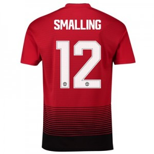 Manchester United Home Cup Shirt 2018-19 with Smalling 12 printing