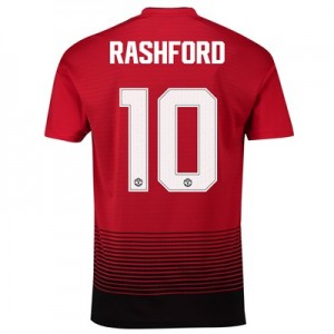 Manchester United Home Cup Shirt 2018-19 with Rashford 10 printing