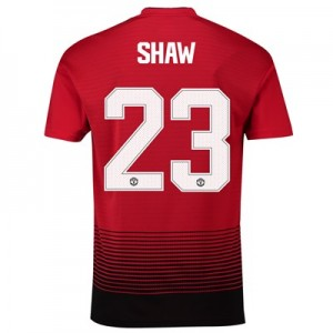 Manchester United Home Cup Shirt 2018-19 with Shaw 23 printing