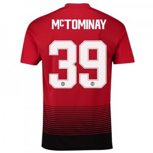 Manchester United Home Cup Shirt 2018-19 with McTominay 39 printing