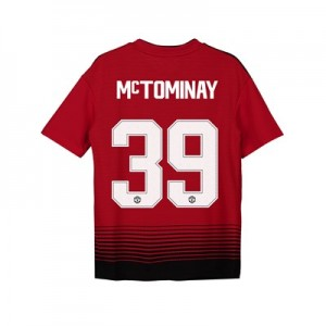 Manchester United Home Cup Shirt 2018-19 - Kids with McTominay 39 printing