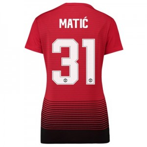 Manchester United Home Cup Shirt 2018-19 - Womens with Matic 31 printing