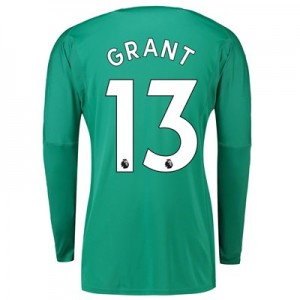 Manchester United Home Goalkeeper Shirt 2018-19 with Grant 13 printing