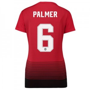 Manchester United Home Cup Shirt 2018-19 - Womens with Palmer 6 printing
