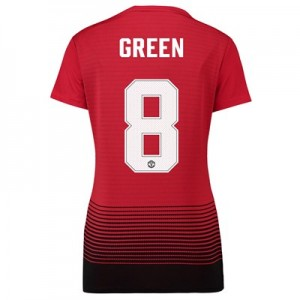 Manchester United Home Cup Shirt 2018-19 - Womens with Green 8 printing