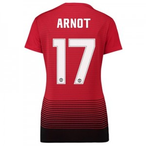 Manchester United Home Cup Shirt 2018-19 - Womens with Arnot 17 printing