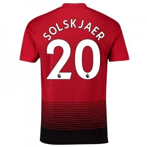Manchester United Home Shirt 2018-19 with Solskjaer 20 printing