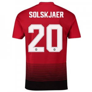 Manchester United Home Cup Shirt 2018-19 with Solskjaer 20 printing
