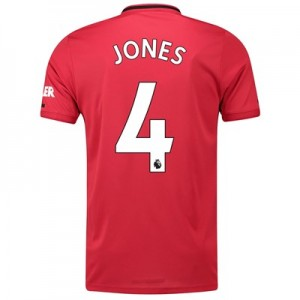 Manchester United Home Shirt 2019 - 20 with Jones 4 printing
