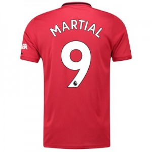 Manchester United Home Shirt 2019 - 20 with Martial 9 printing