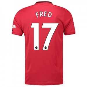 Manchester United Home Shirt 2019 - 20 with Fred 17 printing